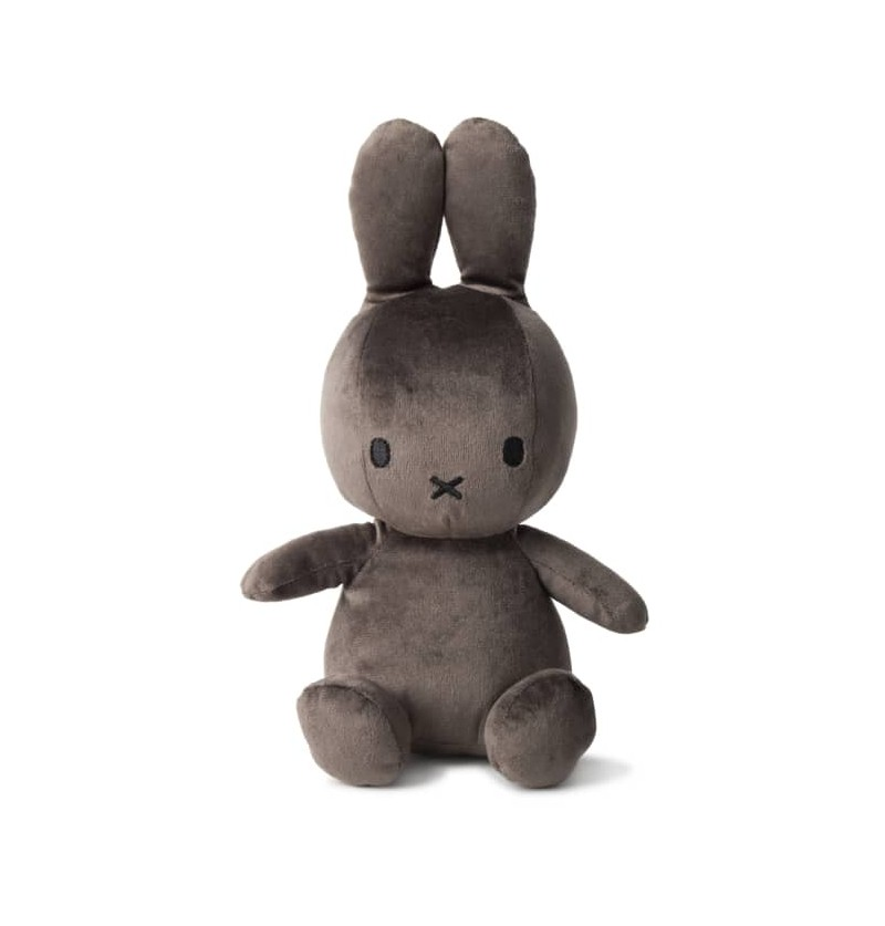 Peluche miffy velours gris...