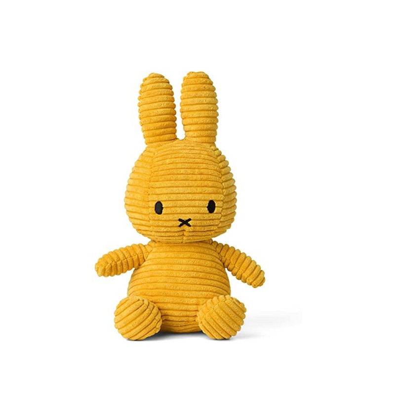 Peluche miffy moutarde