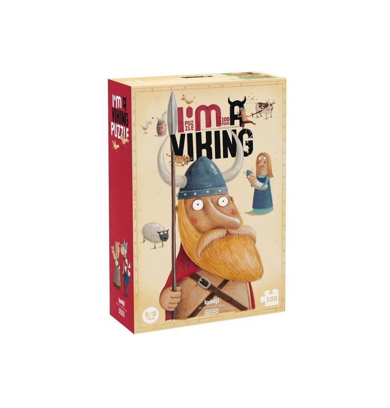 Puzzle I'm a viking